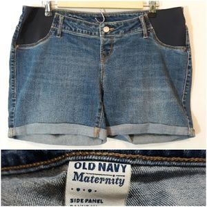 Old Navy Side Stretch Side Panel Jean Shorts